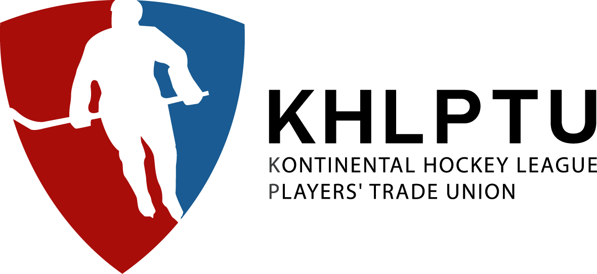 Kontinental Hockey League Player,s Trade Union Retina Logo